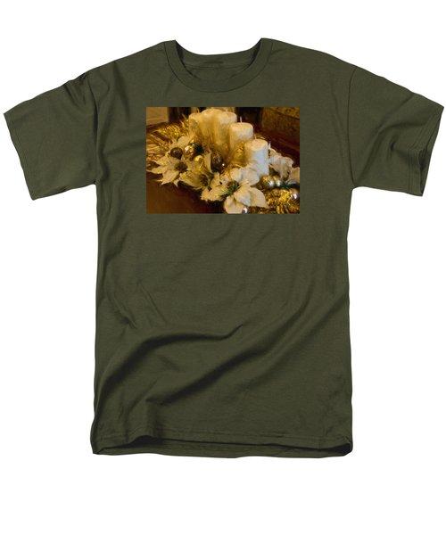 Centerpiece For Christmas Men's T-Shirt  (Regular Fit) by Cathy Jourdan