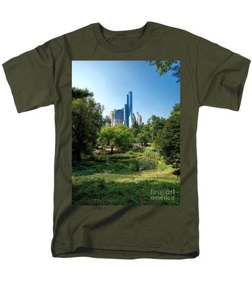 Central Park Ny Men's T-Shirt  (Regular Fit) by Daniel Heine