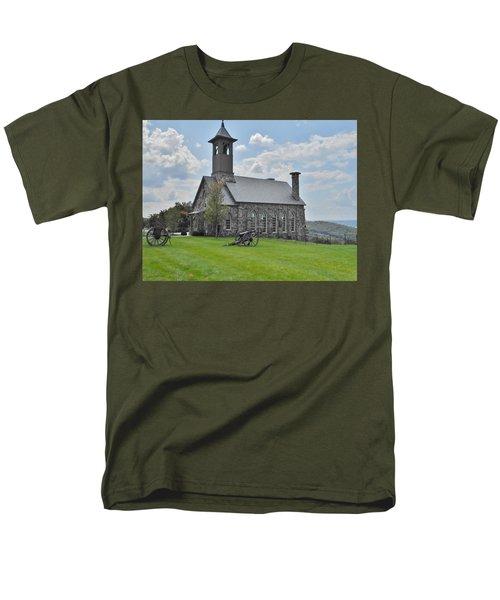 Chapel 2 Men's T-Shirt  (Regular Fit) by Julie Grace