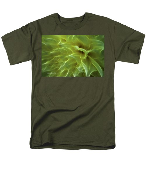 Cheery Chrysanthemum Men's T-Shirt  (Regular Fit) by Joann Copeland-Paul