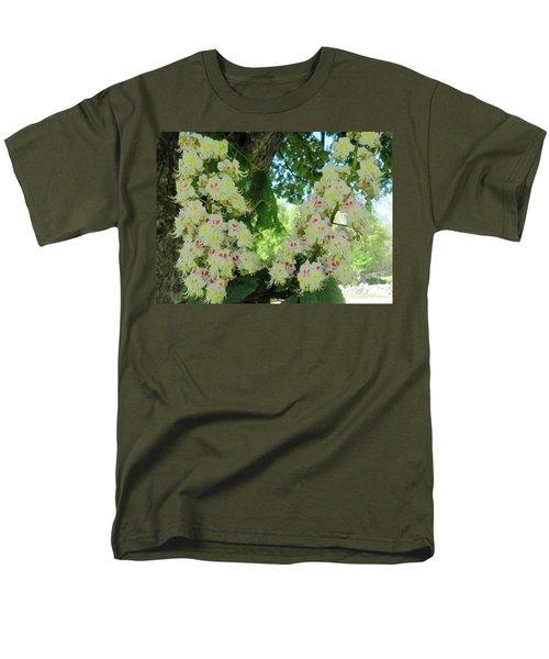 Chestnut Tree Flowers Men's T-Shirt  (Regular Fit)