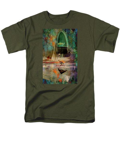 Chevy Tail Men's T-Shirt  (Regular Fit)
