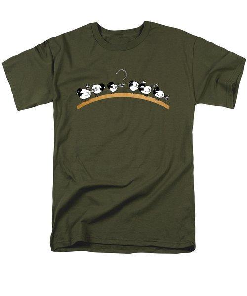 Chickadees Men's T-Shirt  (Regular Fit) by Matt Mawson