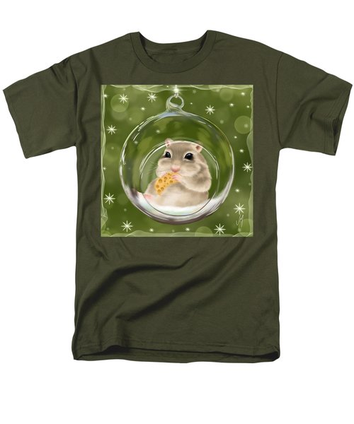 Men's T-Shirt  (Regular Fit) featuring the painting Christmas Relax by Veronica Minozzi