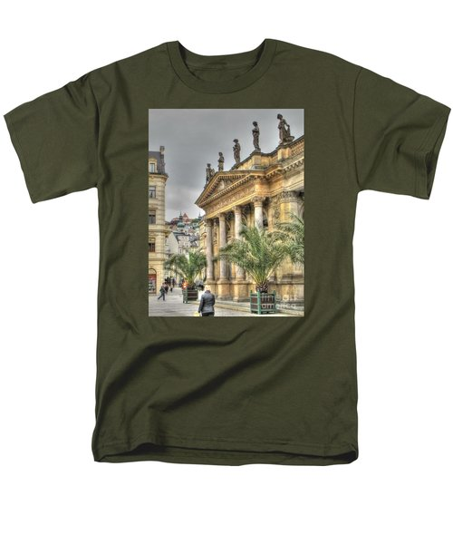 Karlovy Vary Chehia Men's T-Shirt  (Regular Fit) by Yury Bashkin