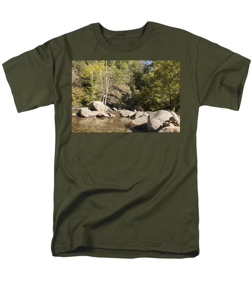 Clear Water Stream Men's T-Shirt  (Regular Fit) by Ricky Dean