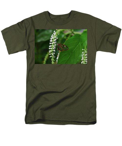 Clearwing Butterfly Men's T-Shirt  (Regular Fit) by Ronda Ryan