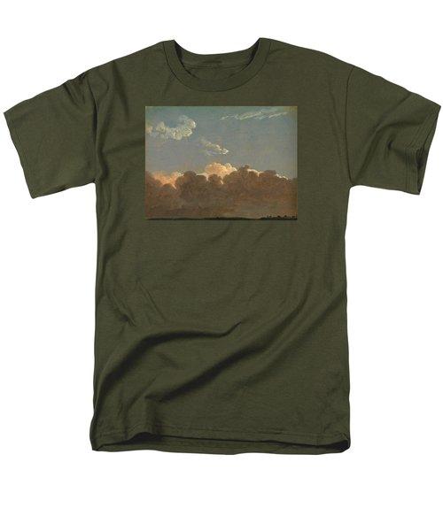 Men's T-Shirt  (Regular Fit) featuring the painting Cloud Study. Distant Storm by Simon Denis