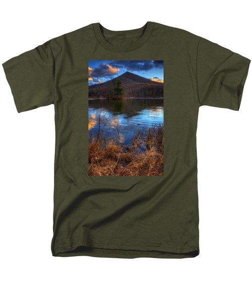 Clouds On Abbott Lake Men's T-Shirt  (Regular Fit) by Steve Hurt