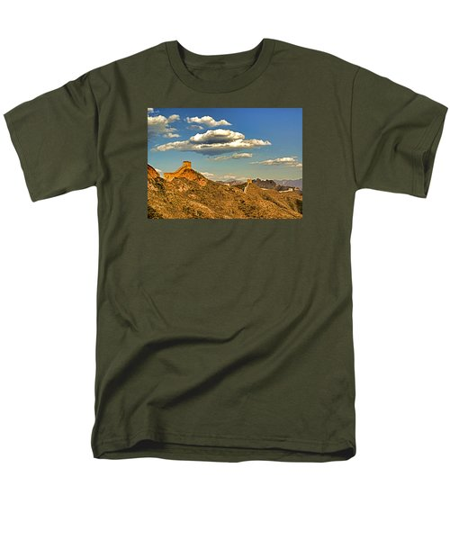 Clouds Over Great Wall Men's T-Shirt  (Regular Fit) by Dennis Cox ChinaStock