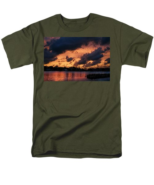 Men's T-Shirt  (Regular Fit) featuring the photograph Cloudscape by Laura Fasulo
