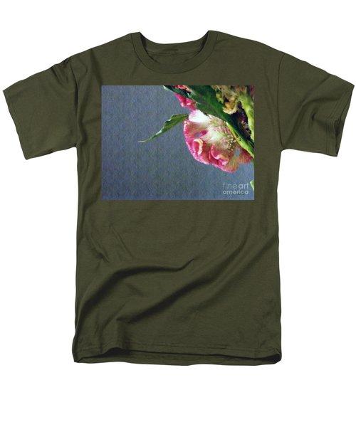 Men's T-Shirt  (Regular Fit) featuring the photograph Cockscomb Bouquet 6 by Sarah Loft