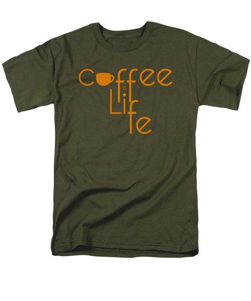 Coffee Is Life #2 Men's T-Shirt  (Regular Fit)