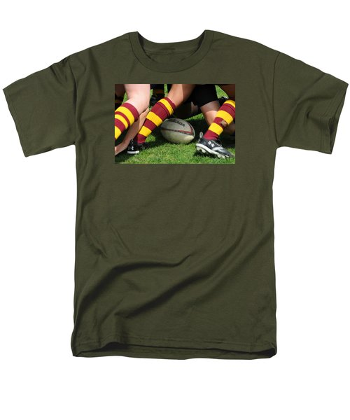 Collegiate Women's Rugby Men's T-Shirt  (Regular Fit) by Mike Martin