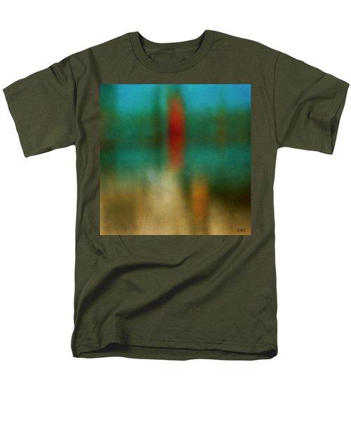Color Abstraction Xxvi Men's T-Shirt  (Regular Fit) by David Gordon