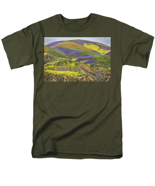 Men's T-Shirt  (Regular Fit) featuring the photograph Color Mountain II by Peter Tellone