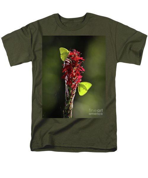 Men's T-Shirt  (Regular Fit) featuring the photograph Color On Citico by Douglas Stucky