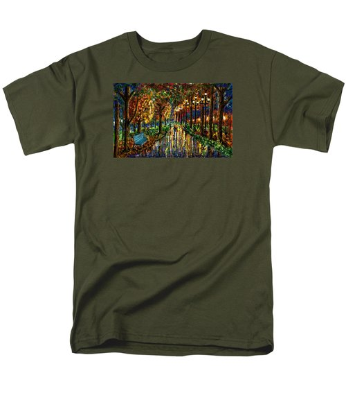 Colorful Forest Men's T-Shirt  (Regular Fit) by Darren Cannell