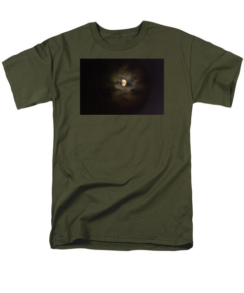 Men's T-Shirt  (Regular Fit) featuring the photograph Colorfull Moon by Ramona Whiteaker