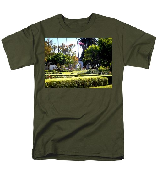 Men's T-Shirt  (Regular Fit) featuring the photograph Colors In The Garden by Glenn McCarthy Art and Photography