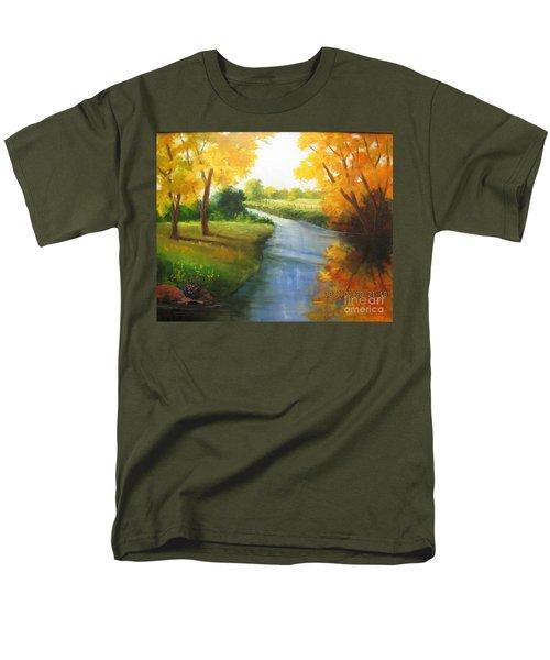 Colors Of Fall Men's T-Shirt  (Regular Fit)