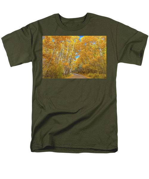Men's T-Shirt  (Regular Fit) featuring the photograph Colors Of Fall by Darren White
