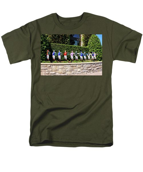 Colors Of Past Stakes At Keeneland Ky Men's T-Shirt  (Regular Fit) by Chris Smith