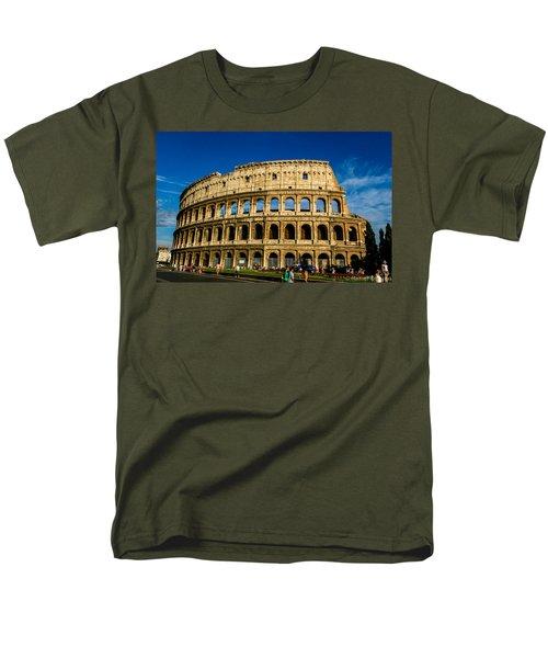 Colosseo Roma Men's T-Shirt  (Regular Fit) by Rainer Kersten