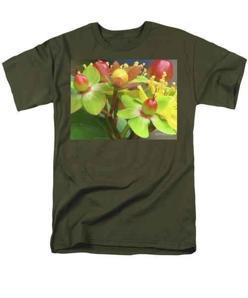 Coloured Beads Men's T-Shirt  (Regular Fit) by Kim Tran