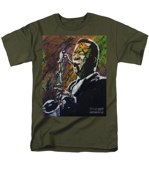 Coltrane Men's T-Shirt  (Regular Fit) by Stuart Engel
