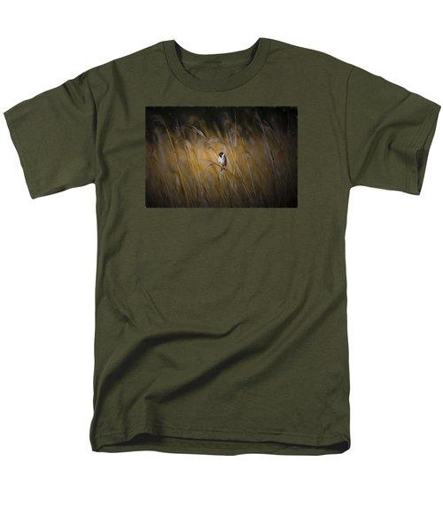 Common Reed Bunting Nov Men's T-Shirt  (Regular Fit)