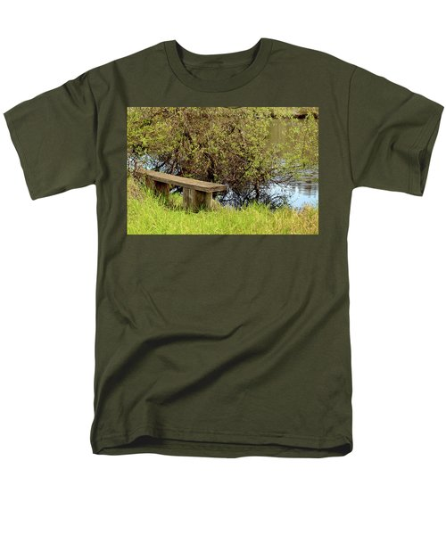 Men's T-Shirt  (Regular Fit) featuring the photograph Communing With Nature by Art Block Collections