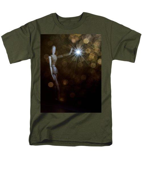 Contact Men's T-Shirt  (Regular Fit) by Mark Fuller