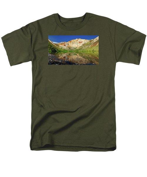 Convict Lake Men's T-Shirt  (Regular Fit) by Rick Furmanek