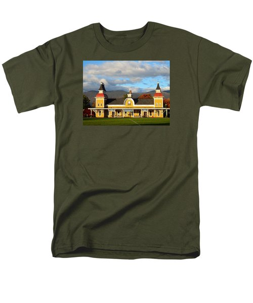 Conway Scenic Railroad 1 Men's T-Shirt  (Regular Fit) by Nancy De Flon