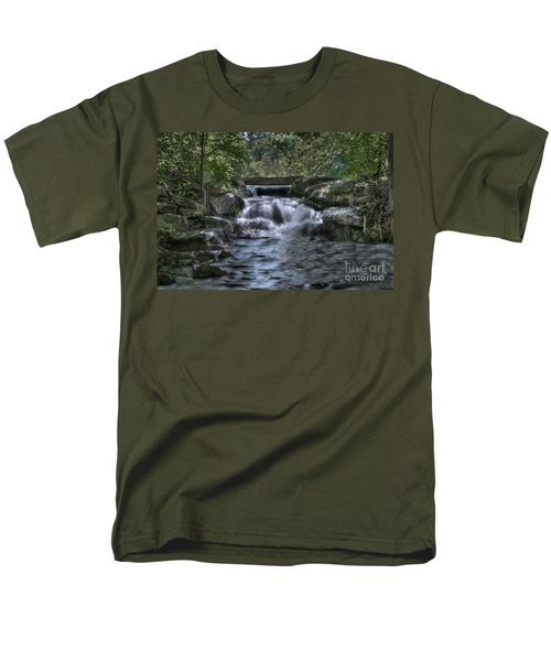 Cooling Waters  Men's T-Shirt  (Regular Fit) by Tamyra Ayles