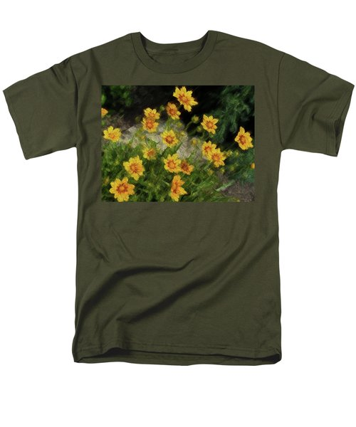 Coreopsis Tickseed Men's T-Shirt  (Regular Fit)