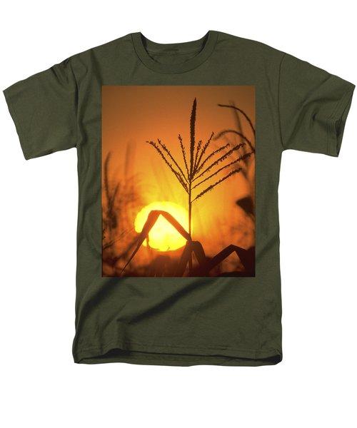 Cornfield Sunset Men's T-Shirt  (Regular Fit) by Garry McMichael