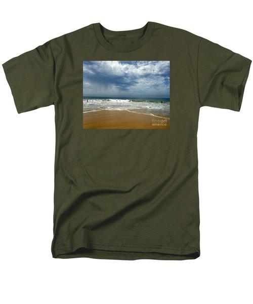 Men's T-Shirt  (Regular Fit) featuring the photograph Corona Del Mar 1 by Cheryl Del Toro
