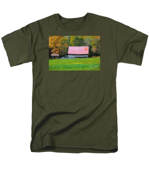 Men's T-Shirt  (Regular Fit) featuring the photograph Country Autumn  by Marion Johnson