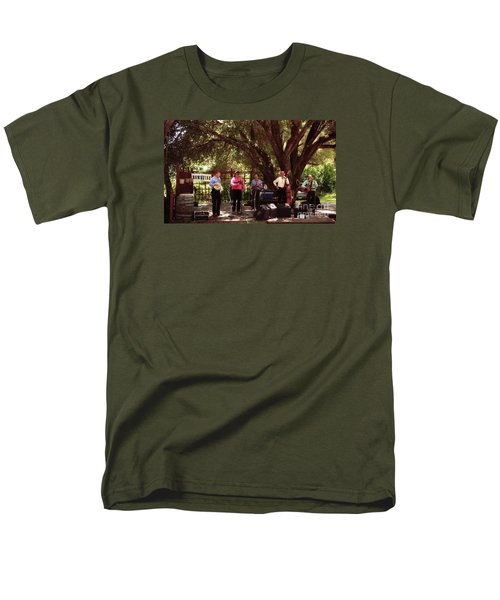 Country Music California Stage Men's T-Shirt  (Regular Fit) by Ted Pollard