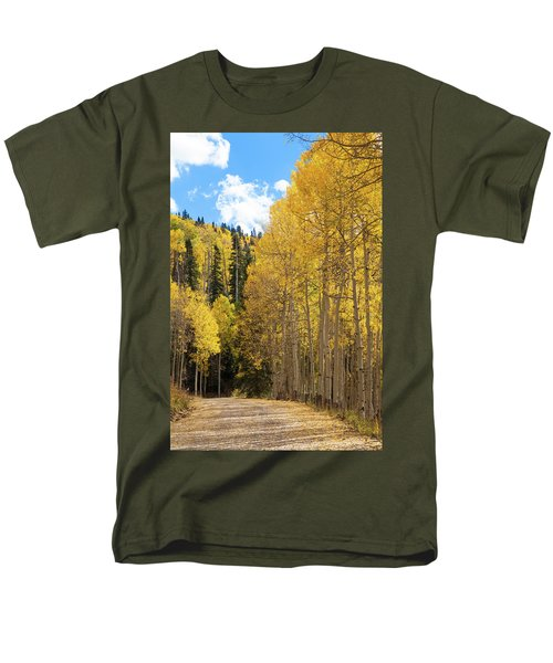 Country Roads Men's T-Shirt  (Regular Fit) by David Chandler