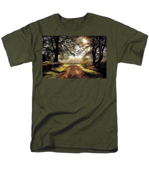 Country Roads Men's T-Shirt  (Regular Fit) by Ronda Ryan