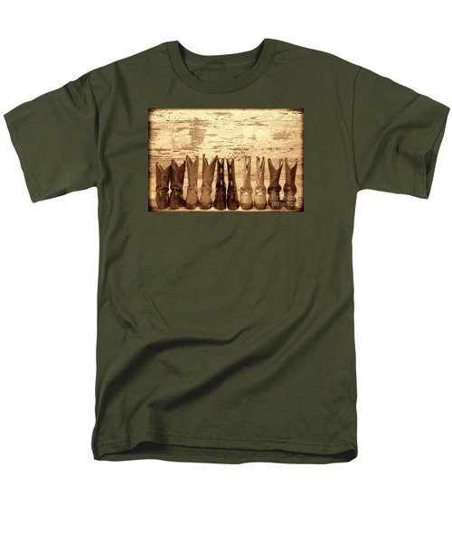 Cowgirls Night Out Men's T-Shirt  (Regular Fit) by American West Legend By Olivier Le Queinec