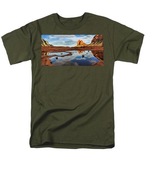 Cowpie 07-016p Men's T-Shirt  (Regular Fit) by Scott McAllister