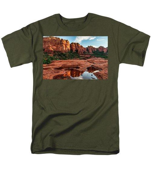 Cowpie 07-087 Men's T-Shirt  (Regular Fit) by Scott McAllister