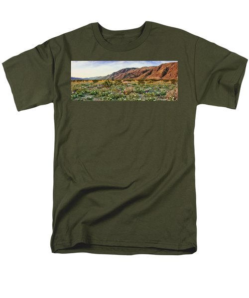Coyote Canyon Sweet Light Men's T-Shirt  (Regular Fit) by Daniel Hebard