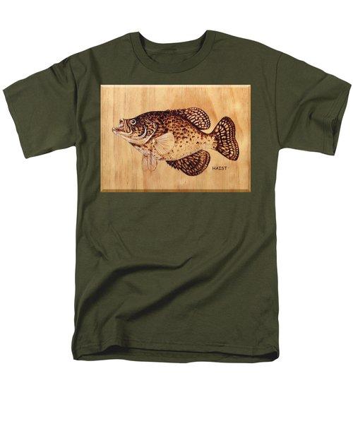 Crappie Men's T-Shirt  (Regular Fit) by Ron Haist