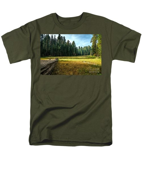 Crescent Meadows Sequoia Np Men's T-Shirt  (Regular Fit) by Daniel Heine