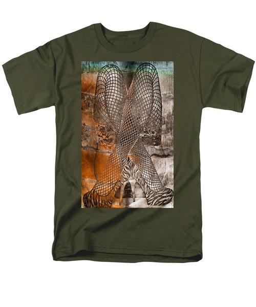 Cross Walk Men's T-Shirt  (Regular Fit)
